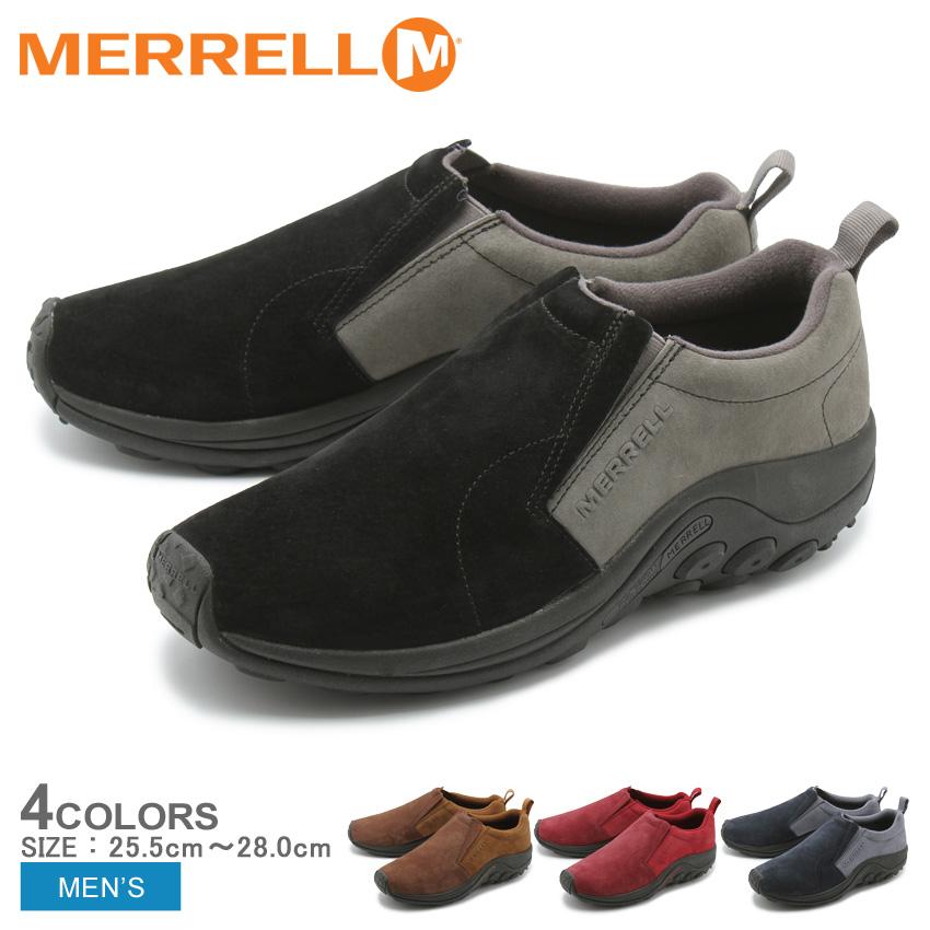 送料無料 MERRELL メレル カジュアルシューズ 全4色ジャングルモック JUNGLE MOC98831 メンズ