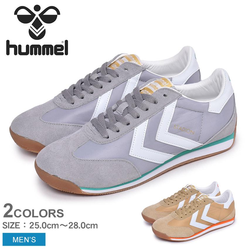 150円引きCP アフターSALE ヒュンメル スタディオン HUMMEL スニーカー メンズ STADION HM208053L45AjqcR