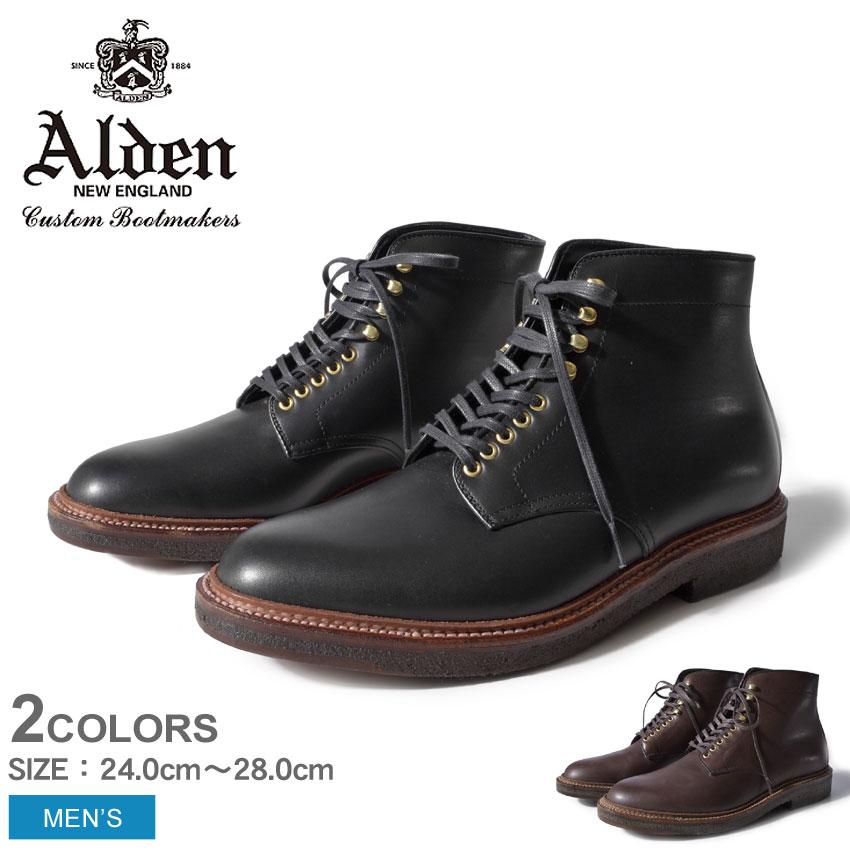 送料無料 ALDEN オールデン ブーツ 全2色プレーン トゥ ブーツ PLAIN TOE BOOTS4515H 4513H メンズ