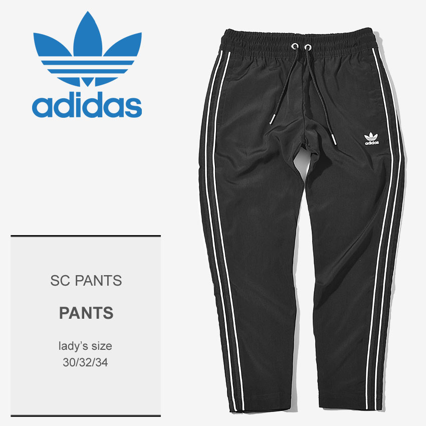 396653e99 ADIDAS ORIGINALS Adidas originals cropped pants black bottomware SC  underwear SC PANTS CE1673 Lady's ...