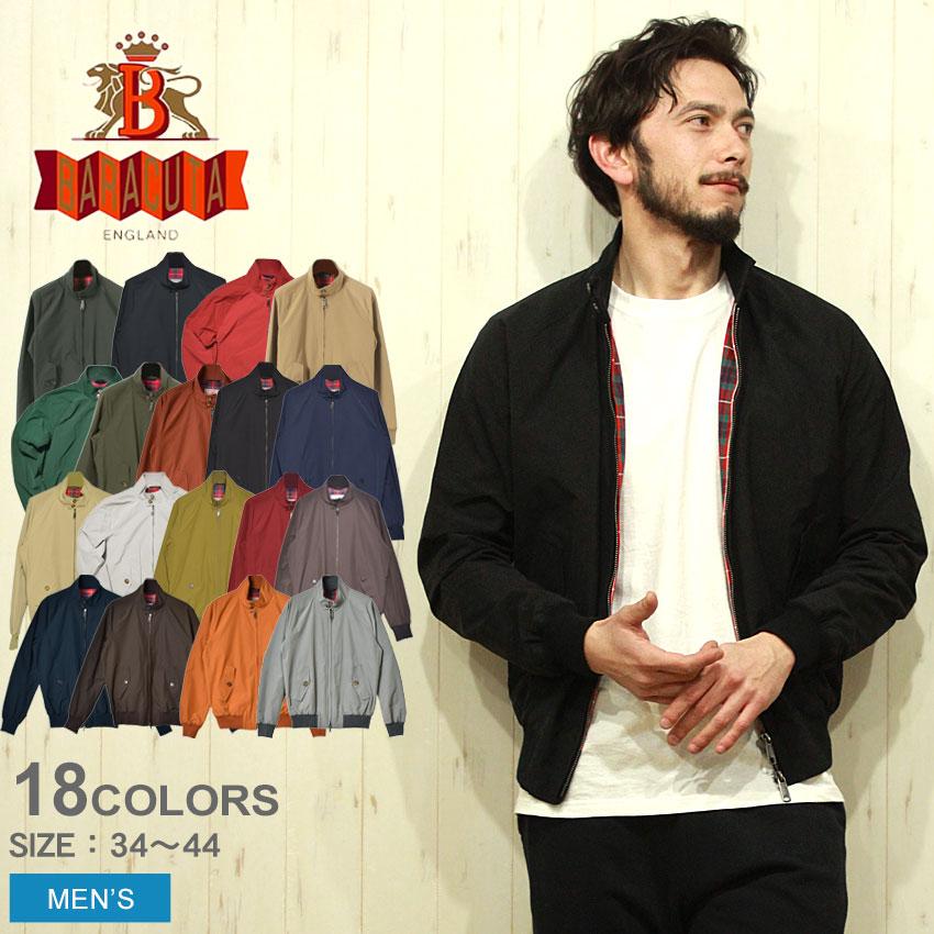 送料無料 BARACUTA バラク―タ ジャケット G9 オリジナル ハリントンジャケット 全7色BRCPS0001 BCNY1 G9 ORIGINAL HARRINGTON JACKETメンズ ブルゾン コート スウィングトップ クールマックス