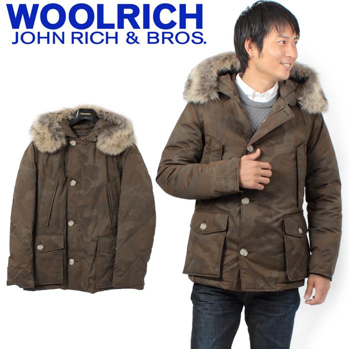 z craft rakuten global market woolrich woolrich john rich bros john rich bros camo arctic. Black Bedroom Furniture Sets. Home Design Ideas