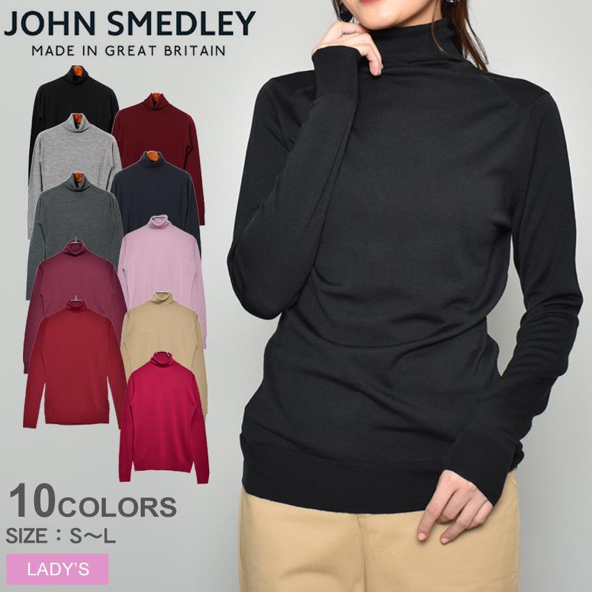 送料無料 JOHN SMEDLEY ジョンスメドレー セーターカットキン セーター CATKIN SWEATERウェア トップスレディース