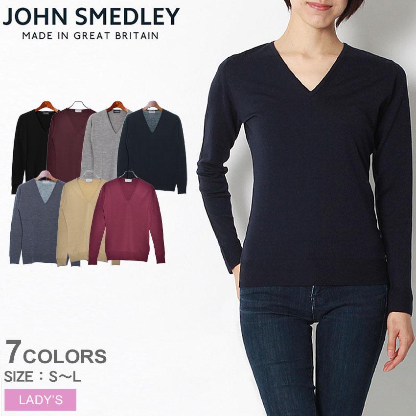 送料無料 JOHN SMEDLEY ジョンスメドレー セーターオーキッド セーター ORCHID SWEATERレディース