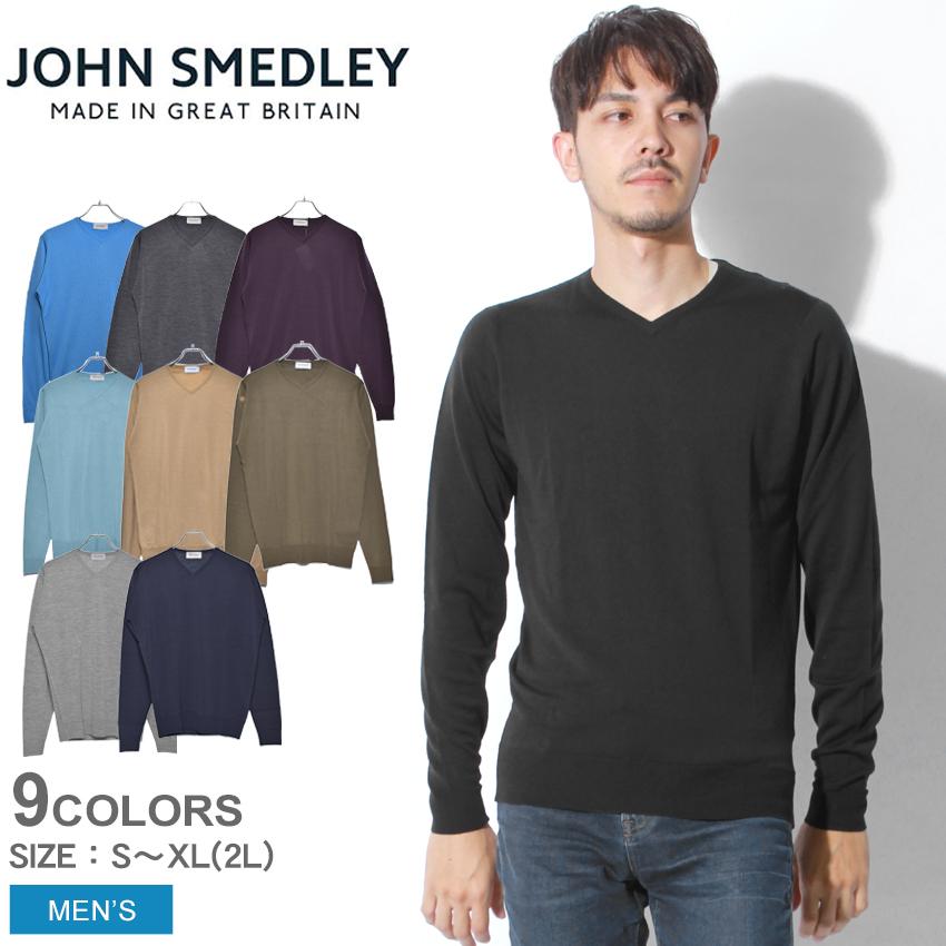 送料無料 JOHN SMEDLEY ジョンスメドレー セーター ニット メンズ シプトン SHIPTON トップス ウェア