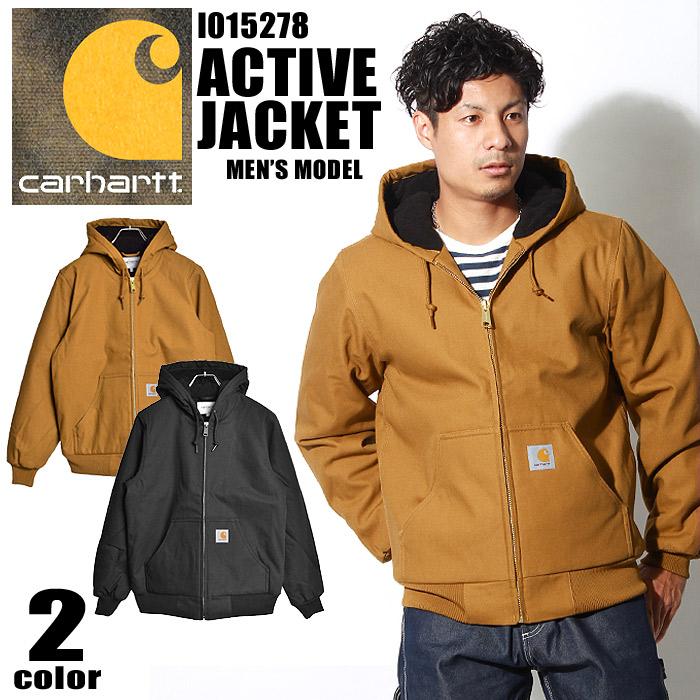 送料無料 カーハート CARHARTT パーカージャケット アクティブ ジャケット ダークネイビー 他全2色ACTIVE JACKET I015278 1C00 HZ00ジャンパー ウェア アウターメンズ 10eg