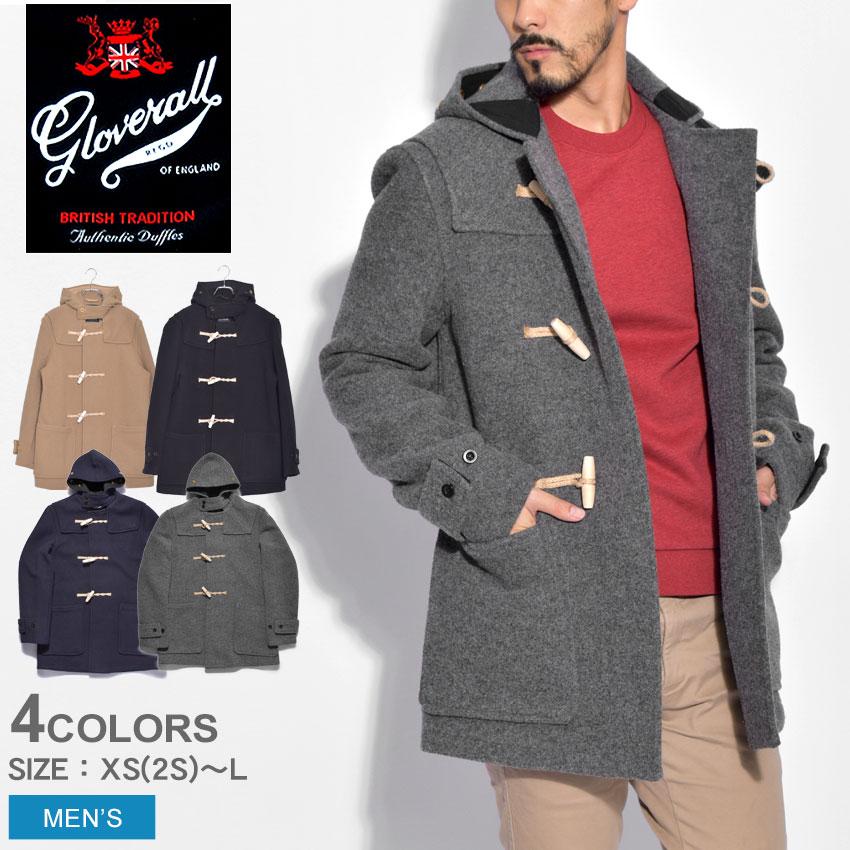 送料無料 GLOVERALL グローバーオール コートミッドモンティウールコート MID MONTY WOOL COAT3577 52 メンズ