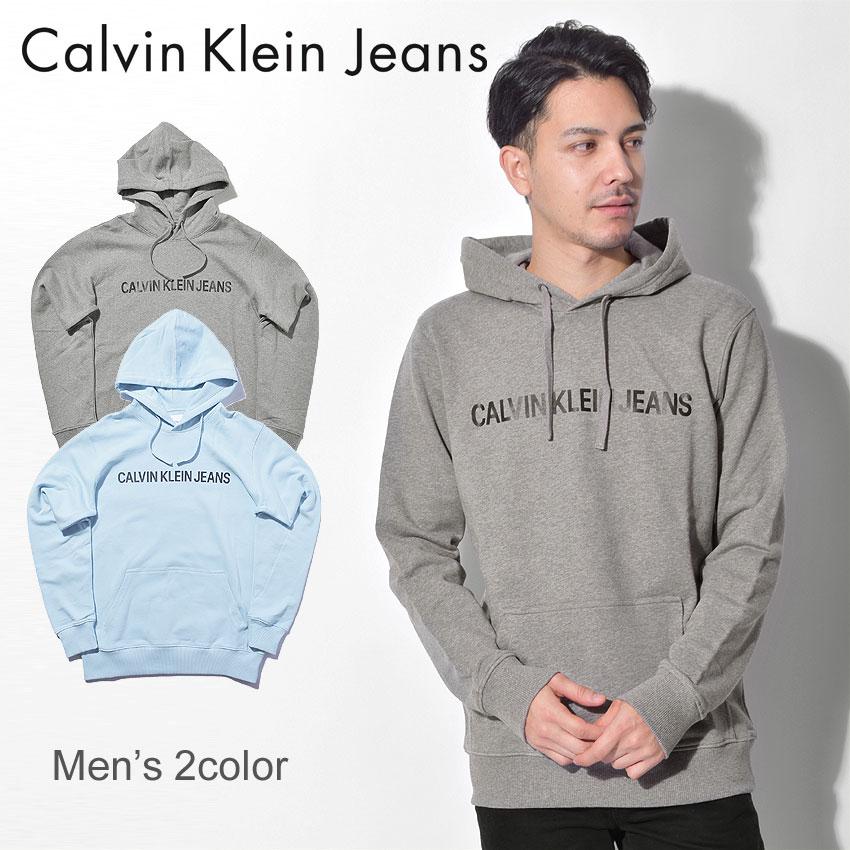 送料無料 CALVIN KLEIN JEANS カルバンクラインジーンズ フーディーロゴ フーディー LOGO HOODIEJ30J309528 039 400 メンズ