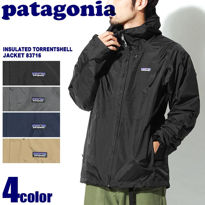 送料無料 PATAGONIA パタゴニア アウトドアジャケット インサレーテッドトレントシェルジャケット 全4色83716マウンテンパーカー ウインドブレーカー 登山 フェス 防水 トレッキング 雨 アウター カジュアルウェアメンズ