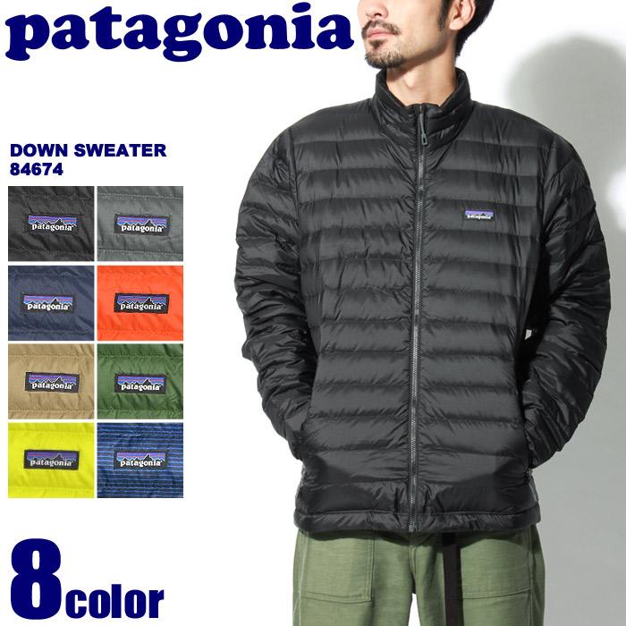 送料無料 PATAGONIA パタゴニア ジャケット ダウン セーター ブラック 他全8色 2017年モデルDOWN SWEATER 84674アウター ダウンジャケット ジップアップ アウトドア トップス ウェア 黒 青 赤メンズ