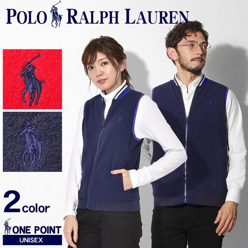 送料無料 POLO RALPH LAUREN ポロ ラルフローレン ベスト 全2色ワンポイント ベスト カジュアルウェア トップス323-703266 001 002 メンズ レディース