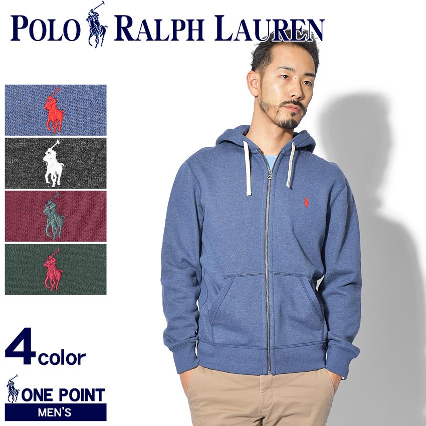 送料無料 POLO RALPH LAUREN ポロ ラルフローレン パーカー ワンポイント パーカー 710565296 008 013 010 009 メンズ フード ジップ