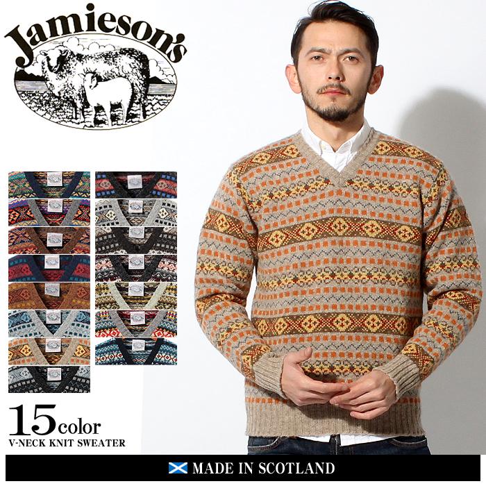 z-craft | Rakuten Global Market: JAMIESONS jamisons V neck knit ...