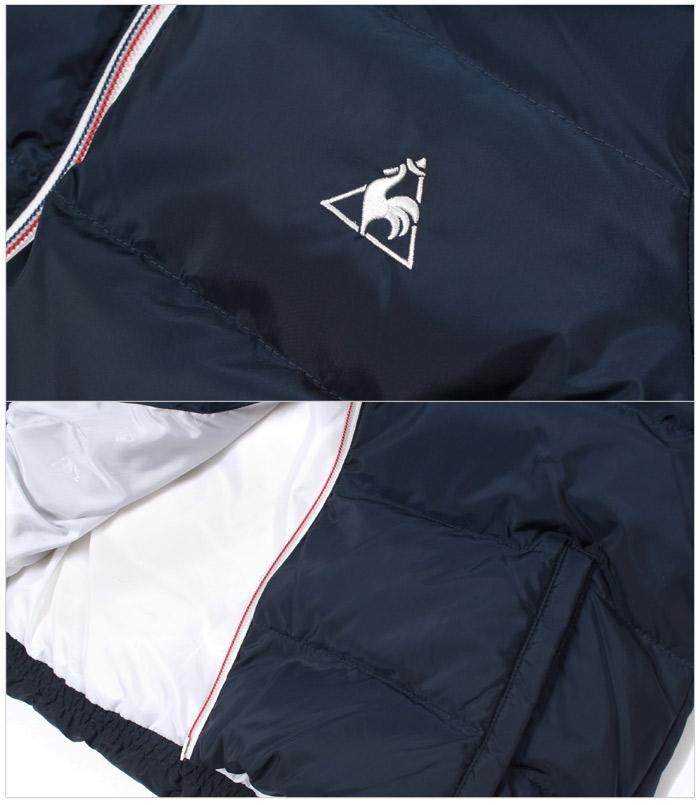 ル コック スポルティフ LE COQ SPORTIF ジャケット ダウンジャケット 全2色(LE COQ SPORTIF QB-585663 NVY WHT)レディース(女性用) ルコック アウトドア カジュアル レディース 女性用
