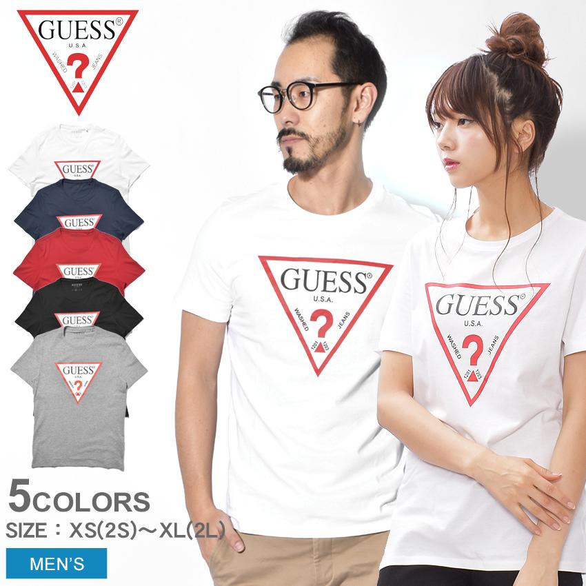 23108448d1dc GUESS ゲス short sleeves T-shirt men street brand summer clothes tops CN SS  ORIGINAL