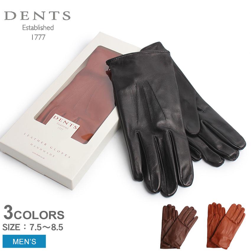 送料無料 デンツ手袋 DENTS手袋 ヘアシープスキン(羊革) 手袋 レザー グローブ ノーライニング 全3色DENTS LETHER GLOVES 15-1026 メンズ(男性用) レザーグローブ 本革 裏地なし ハンドメイド
