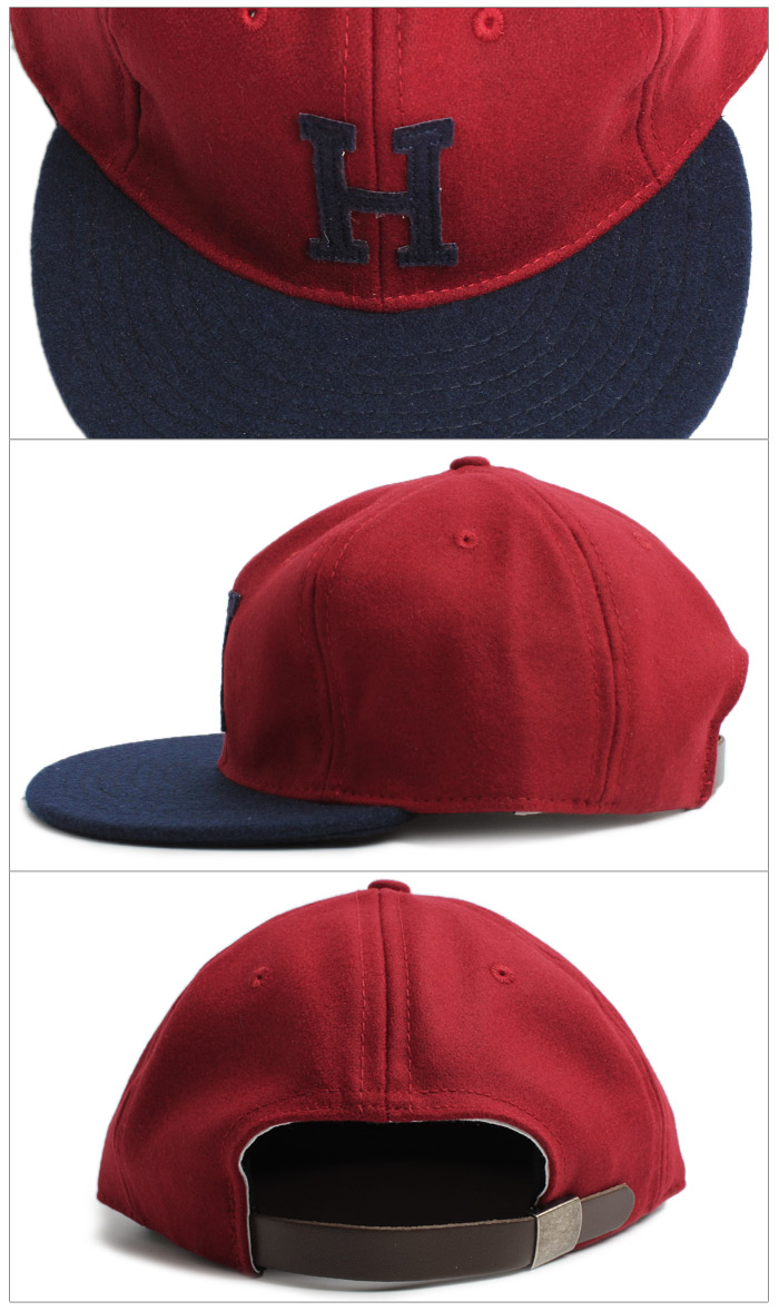 EBBETS FIELD FLANNELS Ebbets Field flannels standard adjustable rate caps all 6 colors USA USA Hat baseball cap Barbour Hat Street simple belt snap back dance embroidered men's parallel Cap (for men) and women (for women)