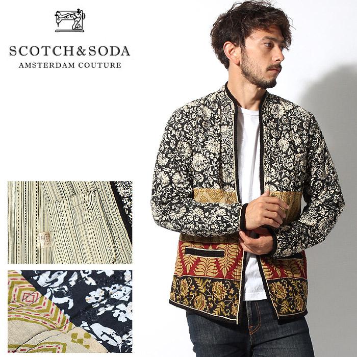送料無料 スコッチ アンド ソーダ SCOTCH&SODA インディア インスパイア ジャケット アウター イエロー(SCOTCH & SODA India Inspired Jacket 130776 16-SSMM-A31)メンズ(男性用) スコッチ