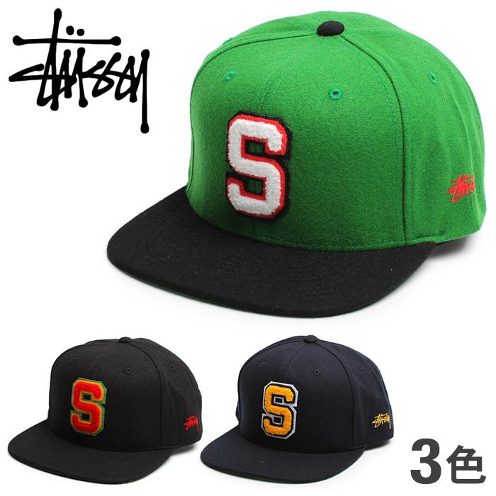 76840a0acee STUSSY suteyushi CHENILLE S HO14 CAP 131367 shieniru S  HO14蓋子全3色突然彈回帽子帽子海外正規的物品人(男性用)