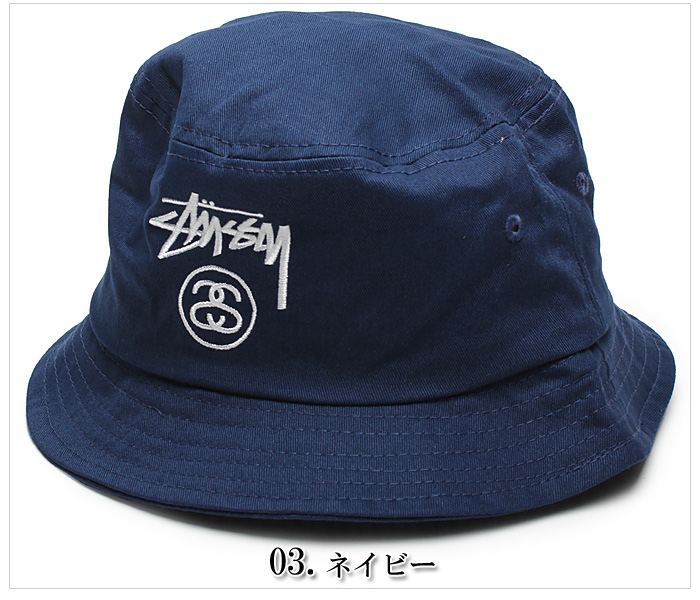 STUSSY Stussy STOCK LOCK HO14 BUCKET HAT 132616 stock lock HO14 bucket Hat  3 colors Cap Hat overseas genuine men s (men s) 4160c7d5e95d