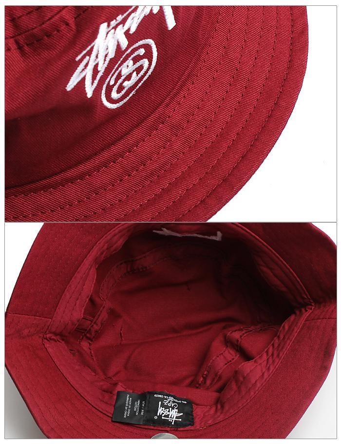 STUSSY Stussy STOCK LOCK HO14 BUCKET HAT 132616 stock lock HO14 bucket Hat  3 colors Cap Hat overseas genuine men s (men s) 4160c7d5e95d