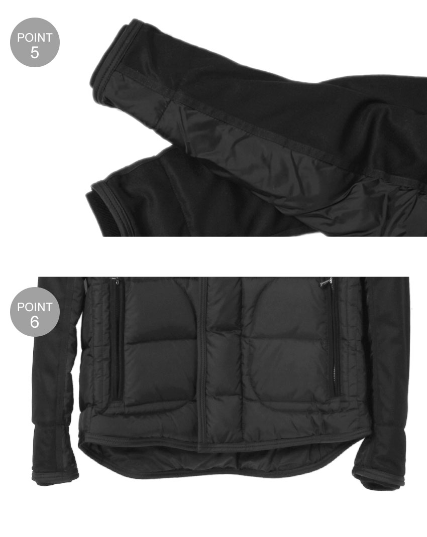 MONCLER MONCLER RYAN GIUBBOTTO Ryan ju pot down jackets black 4139265 53227 999 jacket coat outdoor outerwear down men's (men's)