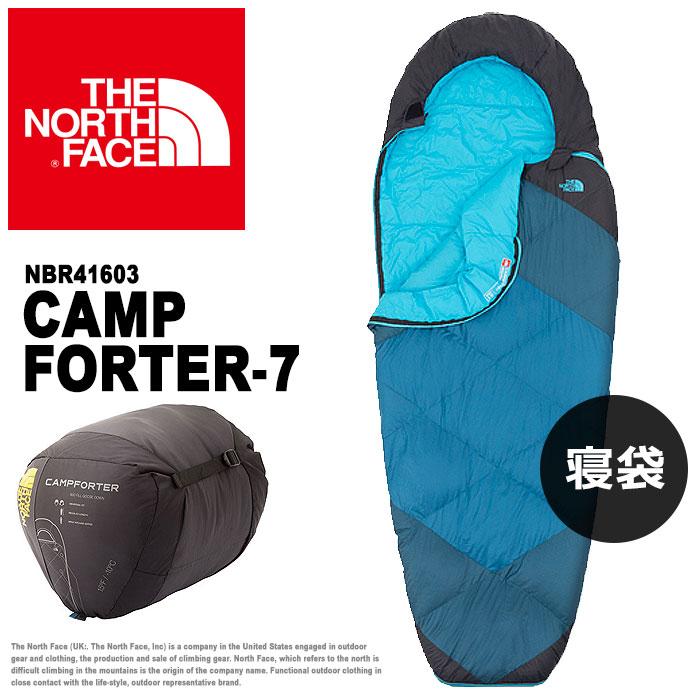 送料無料 ザ ノース フェイス THE NORTH FACE 寝袋 キャンプ フォーター -7 エイサインブルーCAMP FORTER -7 NBR41603シュラフ スリーピングバッグ アウトドア キャンプメンズ(男性用) レディース(女性用)