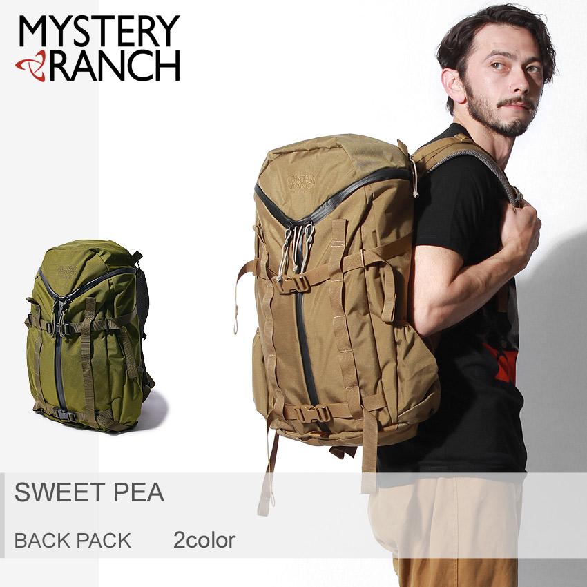送料無料 MYSTERY RANCH ミステリーランチ バッグパック 全2色スイートピー SWEET PEA100683 102987 メンズ レディース