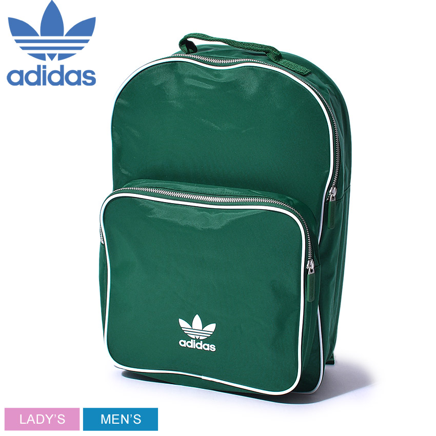 ADIDAS ORIGINALS Adidas originals backpack green BP クラシックアディカラー BP CLASSIC ADICOLOR DV0185 men gap Dis rucksack bag bag カバンストリートロゴトレフォイルブランドバッグ