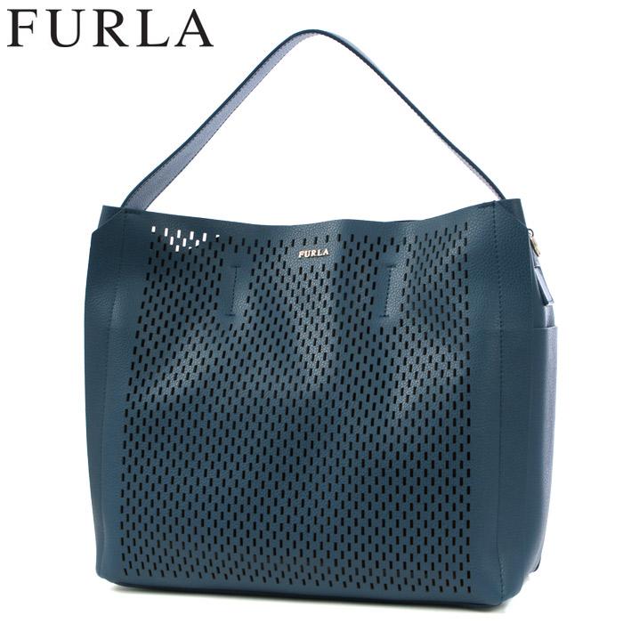 送料無料 フルラ FURLA 2wayショルダーバッグ カプリッチョ M ブルー(FURLA 878542 CAPRICCIO M HOBO)レディース(女性用) ブランドバッグ 高級 鞄 カバン 本革 レザー