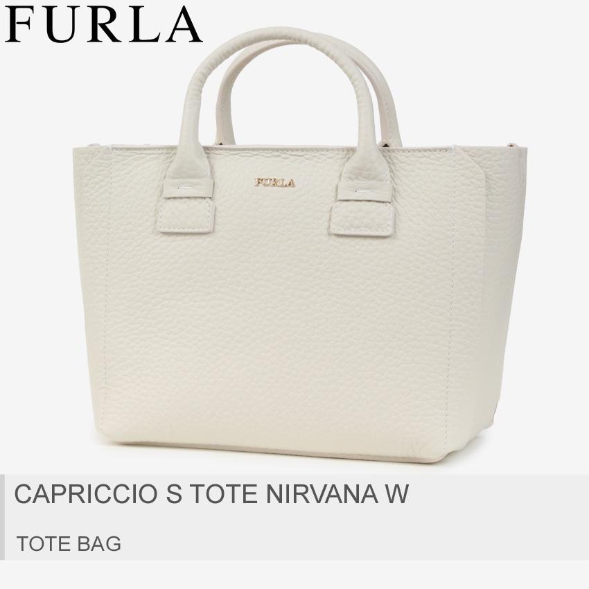 送料無料 FURLA フルラ トートバッグ ペータロカプリッチョ S CAPRICCIO S TOTE NIRVANA W 920219 レディース