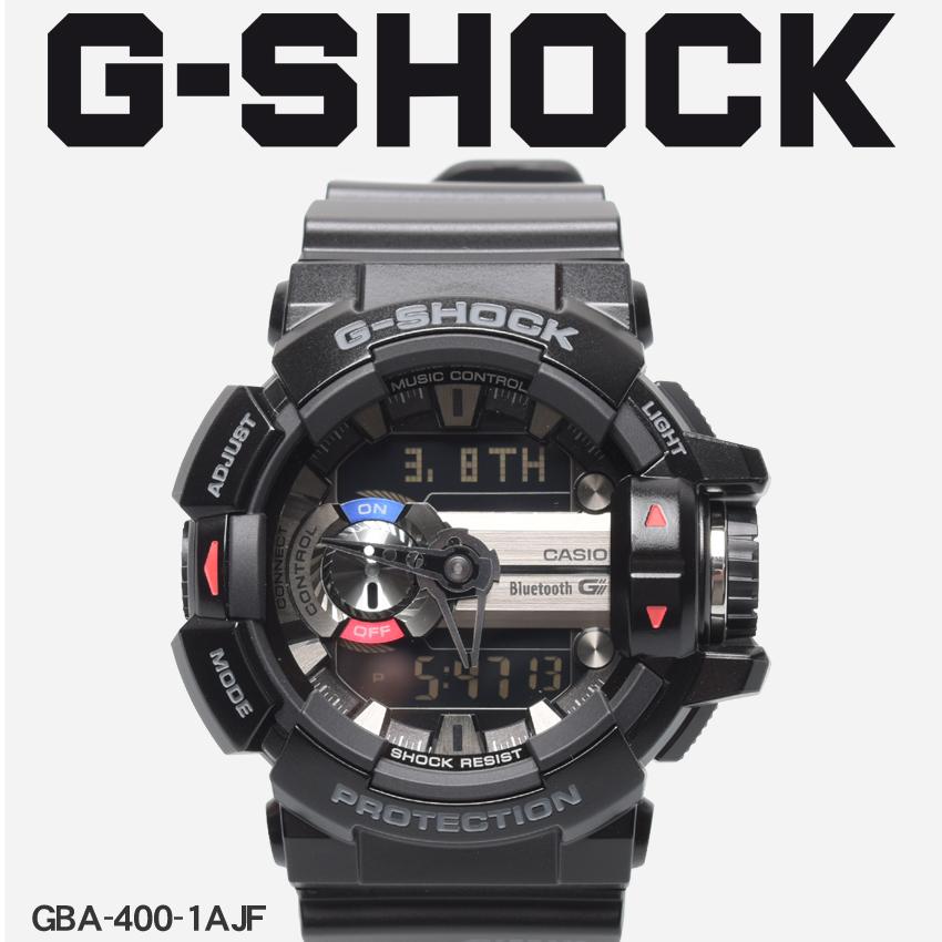 送料無料 G-SHOCK ジーショック CASIO カシオ 腕時計 ブラックジーミックス G'MIXGBA-400-1AJF メンズ 【メーカー正規保証1年】
