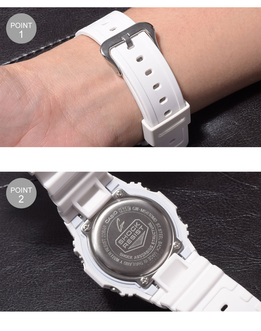【最大500円OFFクーポン】 【お取り寄せ商品】  G-SHOCK ジーショック CASIO カシオ 小物 腕時計 ホワイトGW-M5610GW-M5610MD-7JF メンズ 【メーカー正規保証1年】 【ラッピング対象外】