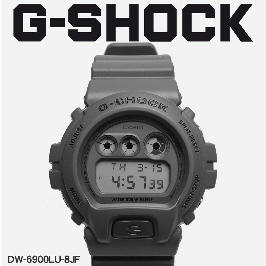 【お取り寄せ商品】 送料無料 G-SHOCK ジーショック CASIO カシオ 小物 腕時計 ネイビーDW-6900DW-6900LU-8JF メンズ 【メーカー正規保証1年】 【ラッピング対象外】