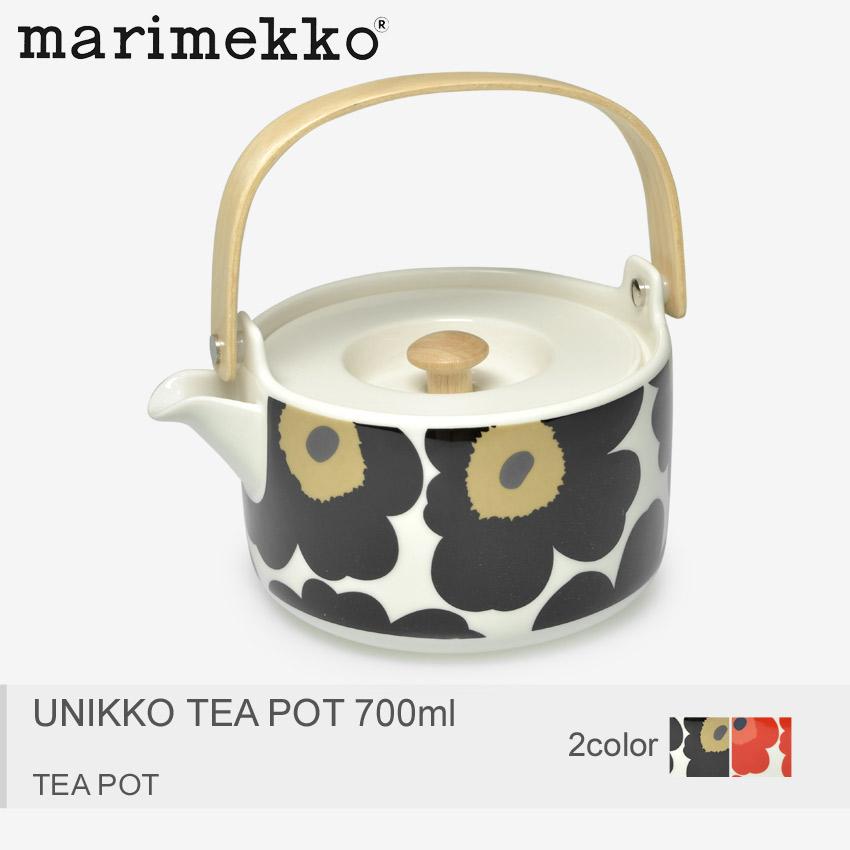 送料無料 MARIMEKKO マリメッコ 食器 全2色ウニッコ ティーポット 700ml UNIKKO TEA POT 700ml63435 001 030