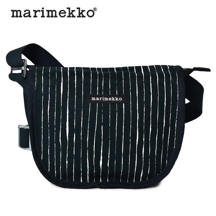 送料無料マリメッコ MARIMEKKO ショルダーバッグ ケルツ アイタ ショルダーバッグ ピッコロブラックKERTTU AITA SHOULDER BAG 44792 510ポシェット 斜め掛け 鞄 肩掛け 白