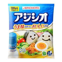 うま味成分を加えた 味 のある塩 アジシオ300g 大特価 味の素調味料 中華料理に 和風料理 未使用品 業務用 常温商品