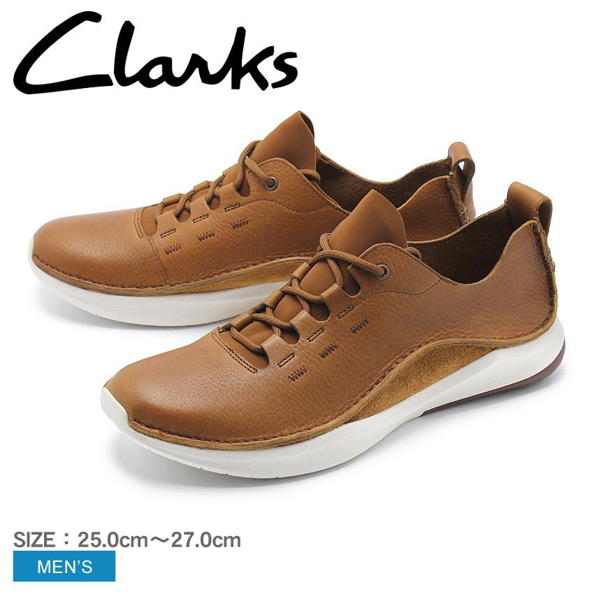 【クーポン配布中】CLARKS クラークス スニーカー ブラウンプリボルーション ロー PRIVOLUTION LO26136814 ブラウン 茶色 ローカット レザー 本革 メンズ 誕生日 プレゼント ギフト