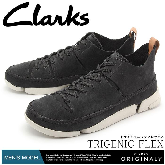 クラークス オリジナルス トライジェニック フレックス ブラック (clarks originals trigenic flex 26107366) 本革 レザー シューズ 靴 メンズ 男性 誕生日プレゼント 結婚祝い ギフト おしゃれ