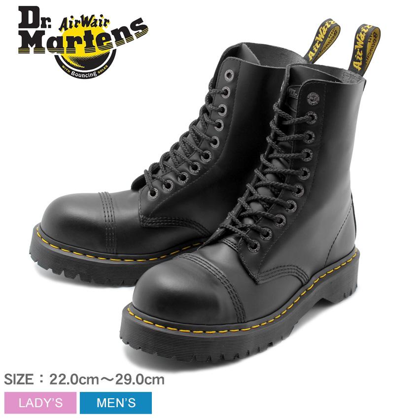【クーポン配布中】DR.MARTENS ドクターマーチン ブーツ ブラック 8761 BXB 10ホール ブーツ 8761 BXB 10EYE BOOT 10966001 メンズ レディース 靴 シューズ ユニセックス レースアップ レザー 黒 誕生日 プレゼント ギフト