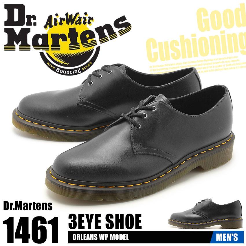 【クーポン配布中】DR.MARTENS ドクターマーチン 革靴 ガンメタル 1461 3ホール シューズ 1461 3EYE BOOT R22829029 メンズ