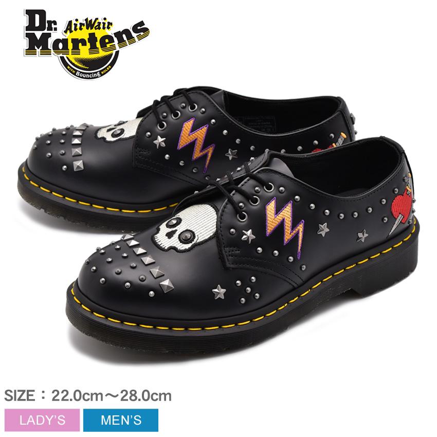 【クーポン配布中】DR.MARTENS ドクターマーチン シューズ ブラック 1461 ロカビリー 3ホール シューズ 1461 ROCKABILLY 3EYE SHOE 24206001 メンズ レディース 靴 シューズ ユニセックス 短靴 レザー 黒 誕生日 プレゼント ギフト