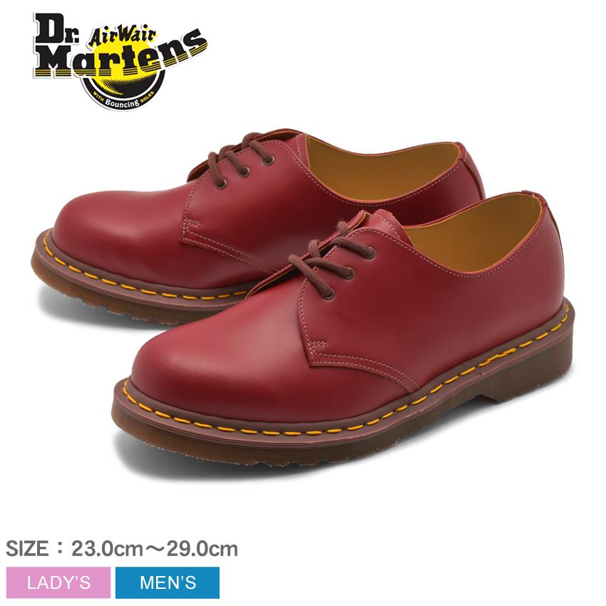 【クーポン配布中】DR.MARTENS ドクターマーチン シューズ バーガンディ 1461 ヴィンテージ 3ホール シューズ 1461 VINTAGE 3EYE SHOE 12877601 メンズ レディース 靴 シューズ ユニセックス 短靴 レザー 赤 誕生日 プレゼント ギフト 母の日