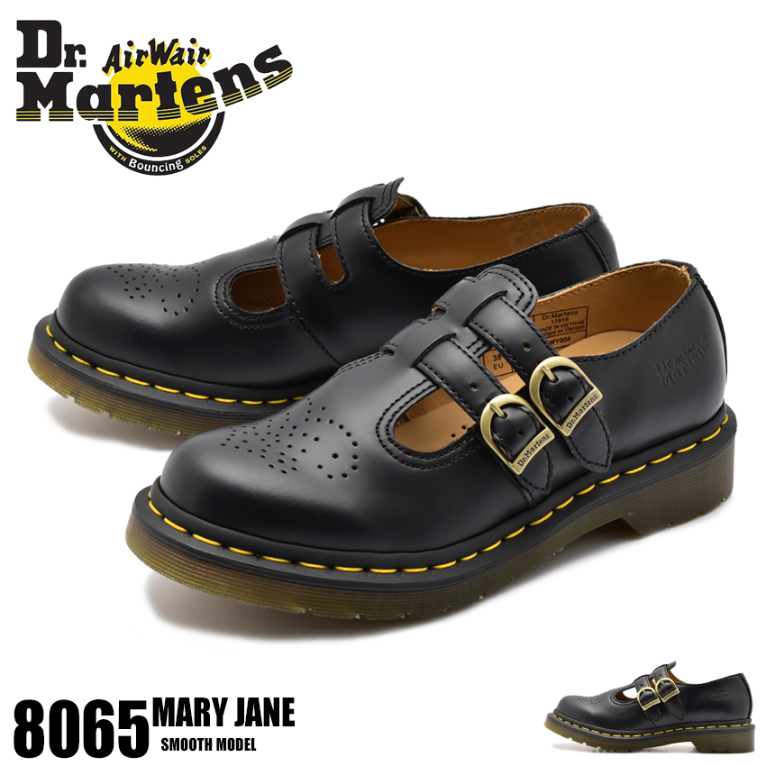 【クーポン配布中】DR.MARTENS ドクターマーチン シューズ ブラック 8065 メリージェーン 8065 MARY JANE R12916001 レディース 母の日