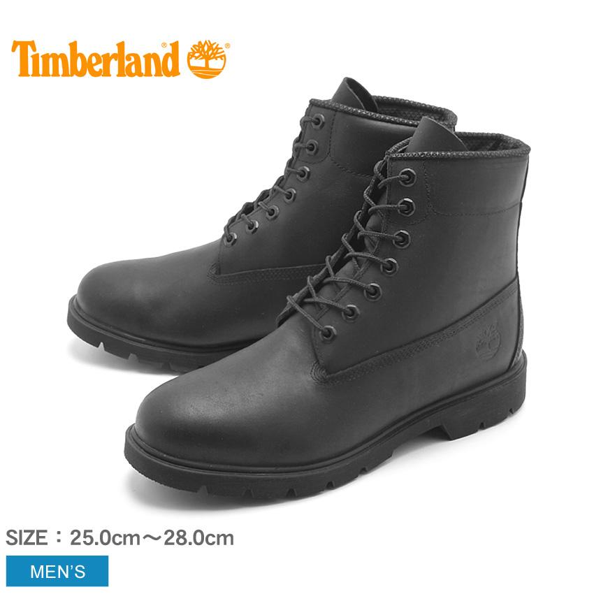 ティンバーランド 6インチ ベーシック ブーツ ブラックフルグレイン (timberland 6inch basic boot 10069) 防水 レザー 本革 ワーク カジュアル シューズ 靴 黒 メンズ 男性 誕生日プレゼント 結婚祝い ギフト おしゃれ