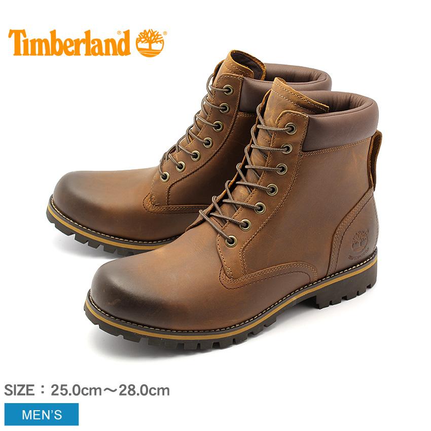 ティンバーランド 6インチ アースキーパーズ ラギッド ブーツ レッドブラウン (timberland 6inch earthkeepers rugged boot 74134) 防水 フルグレインレザー 本革 ワーク カジュアル シューズ 靴 メンズ 男性 ギフト おしゃれ