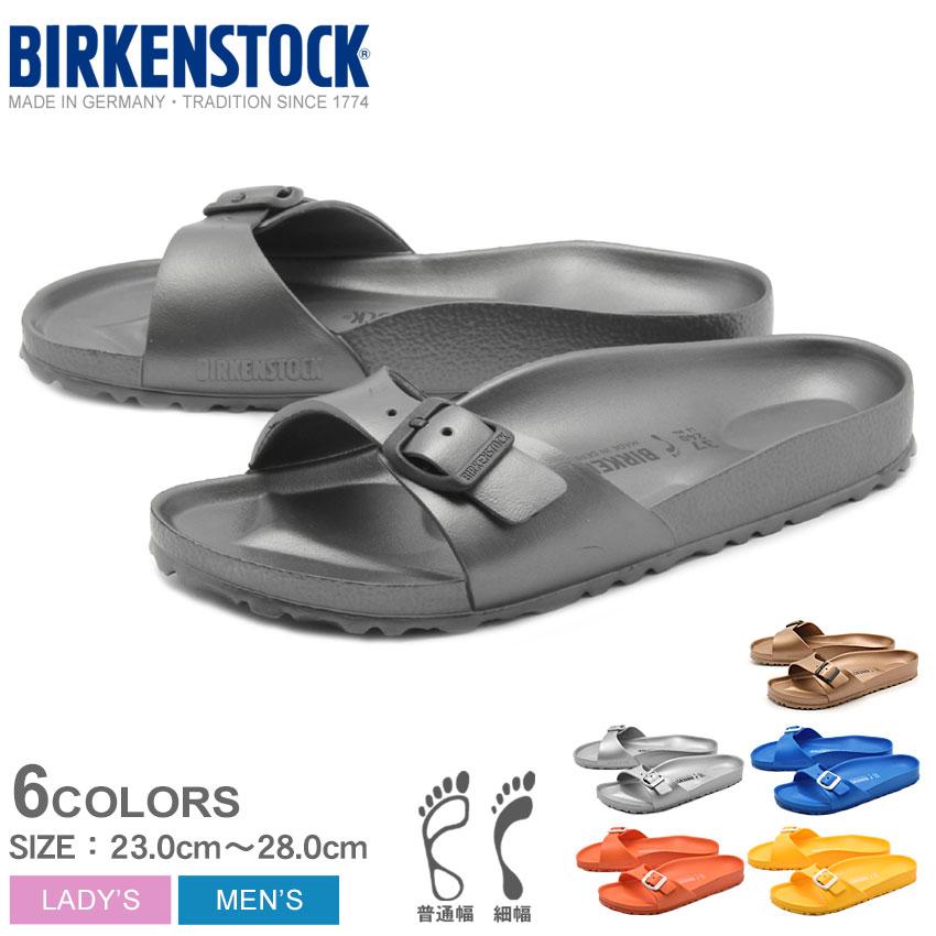 af9e4c2c7 (BIRKENSTOCK) Birkenstock Madrid EVA MADRID EVA 128161 128171 128181 3  colors in normal width type comfort Sandals one strap Sandals casual EVA  men (men s)