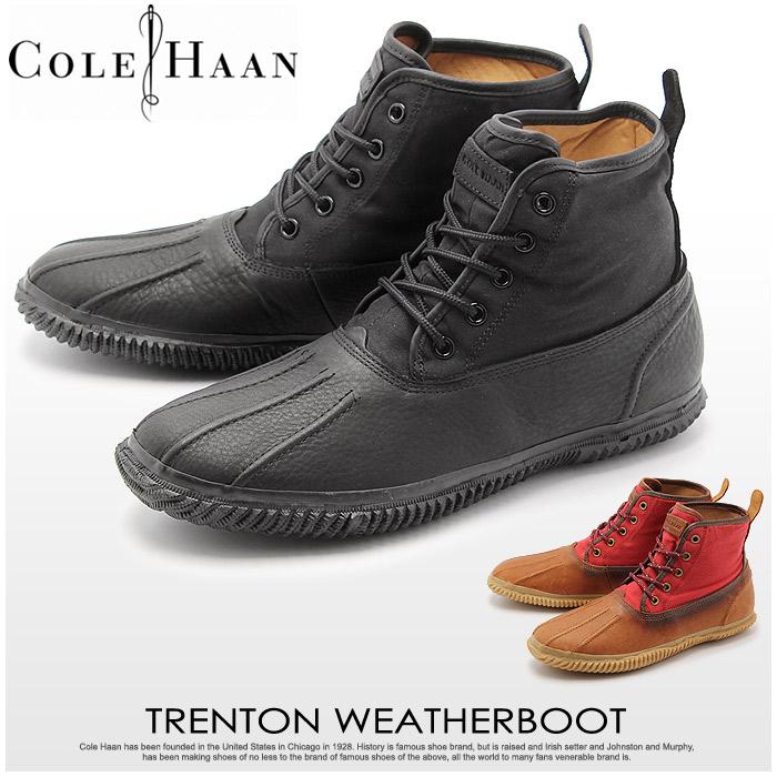 コールハーン トレントン ウェザー ブーツ (COLE HAAN TRENTON WEATHER BOOT) レイン 雨 防水 カジュアル レザー シューズ 靴 メンズ 男性 誕生日プレゼント 結婚祝い ギフト おしゃれ