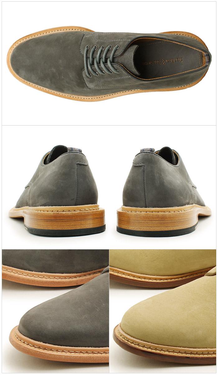 コールハーン & トッド スナイダー ウィレット プレーン オックスフォード (COLE HAAN & TODD SNYDER WILLET PLAIN OXFORD) ラウンドトゥ ヌバック レザー カジュアル シューズ 短靴 メンズ 男性 誕生日 結婚祝い