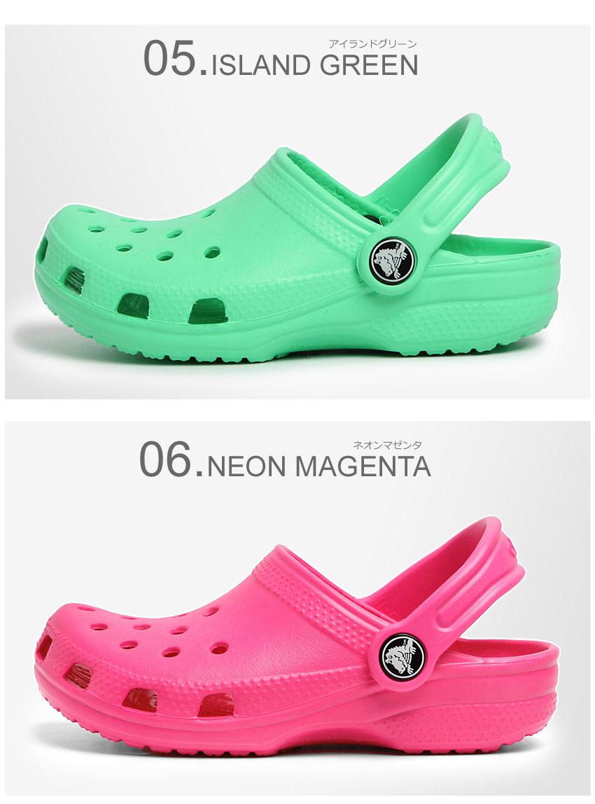 61ccd187356f3 Crocs kids (CROCS) kid s classic (Cayman) Sandals all 21 colors in 9 colors  black boobs giggle (CROCS KIDS CLASSIC CAYMAN) cheap baby   kids (for  children)